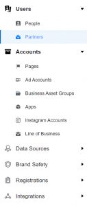 facebook partners sharing